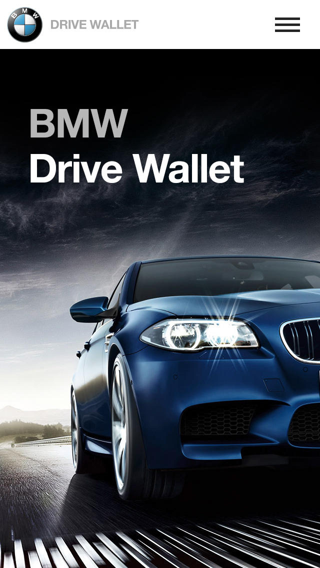 BMW iPhone app design